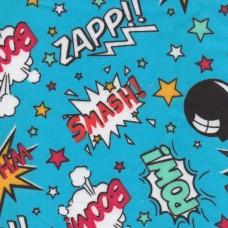 Polycotton: Action Comic: per metre