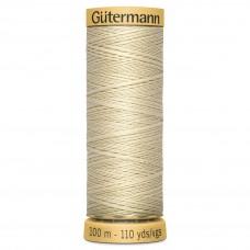 Gütermann: Natural Cotton Thread: 100m: Hay: 519