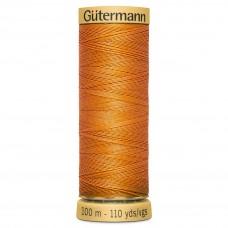 Gütermann: Natural Cotton Thread: 100m: Orange: 1576