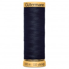 Gütermann: Natural Cotton Thread: 100m: Dark Navy: 6210