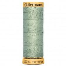 Gütermann: Natural Cotton Thread: 100m: Sage Green: 7954