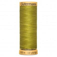 Gütermann: Natural Cotton Thread: 100m: Leaf Green: 9837