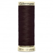 Gütermann: Sew All: 100m: Dark Brown: 696