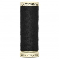 Gütermann: Sew All: 150m: Black: 000