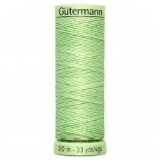 Gütermann: Top Stitch Thread: 30m: Leaf Green: 152
