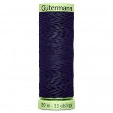 Gütermann: Top Stitch Thread: 30m: Dark Navy: 339