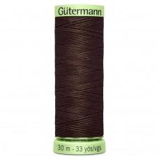 Gütermann: Top Stitch Thread: 30m: Chocolate: 696