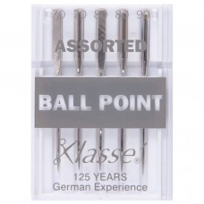 Sewing Machine Needles: Ball Point: Assorted: 5 Pieces