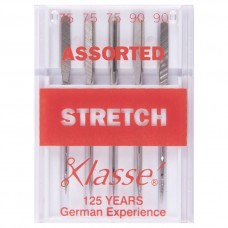 Sewing Machine Needles: Stretch: Assorted: 5 Pieces
