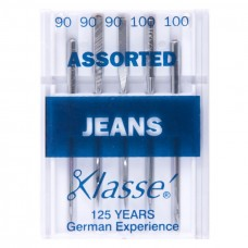 Sewing Machine Needles: Jeans: Assorted: 5 Pieces