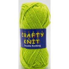 Crafty Knit DK 25g: Lime Green