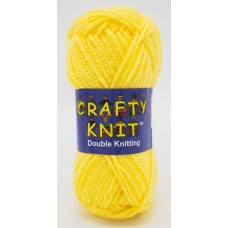 Crafty Knit DK 25g: Lemon Yellow