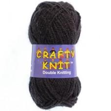 Crafty Knit DK 25g: Black