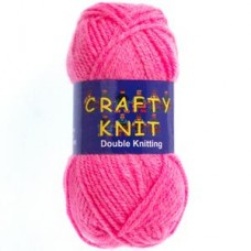 Crafty Knit DK 25g: Fuchsia Pink