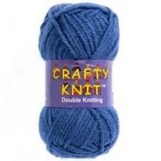 Crafty Knit DK 25g: Deep Blue