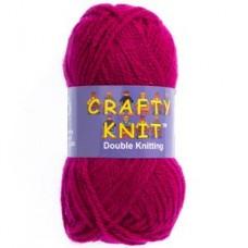 Crafty Knit DK 25g: Burgundy