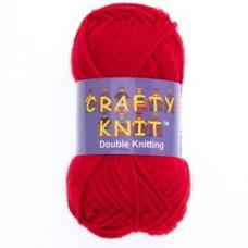 Crafty Knit DK 25g: Cherry Red