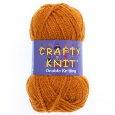 Crafty Knit DK 25g: Ginger Spiced