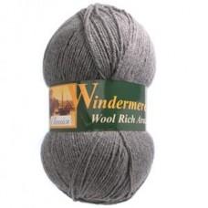 Windermere: Aran: Steel Grey: 400g