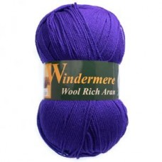 Windermere: Aran: Regal purple: 400g