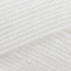 Patons Fairytale Fab 4 ply White 50g