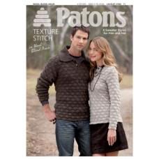 Patons Pattern Leaflet: Wool Blend Aran: Texture