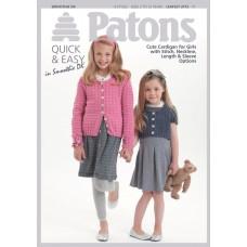 Patons Pattern Leaflet: Smoothie DK: Cardigans