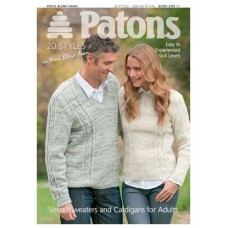 Patons Pattern Book: Vests, Sweaters and Cardigans for Adults