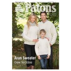 Patons Pattern: Family Aran Sweater