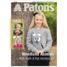 Patons Pattern: Woodland Animal Knits For Kids