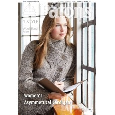 Patons Pattern: Women's Asymmetrical Cardigan