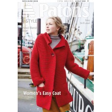 Patons Pattern: Women's Easy Coat