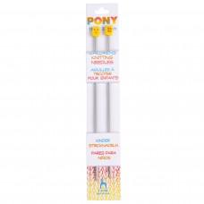 Knitting Pins: Single-Ended: Aluminium: Children's: 18cm x 3.25mm