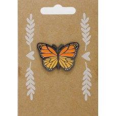 Pin badge: Butterfly