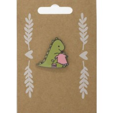 Pin badge: Dinosaur