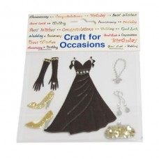 Craft Embellishments: Ball Gown