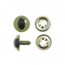 Toy Eyes: Cats: 15mm: 4 Pack