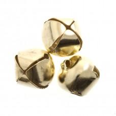 Bells: Jingle: 10mm: Gold: 9 Pack