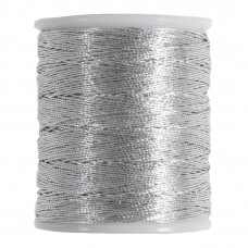Embroidery Thread: Metallic: Silver: 36m