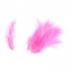 Feathers: Marabou: Cerise