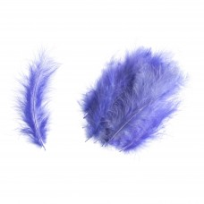 Feathers: Marabou: Purple