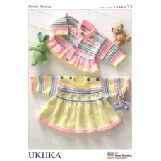 UKHKA Pattern: Dress and Cardigan